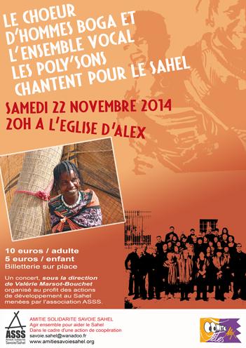 Affiche concert alex 2014