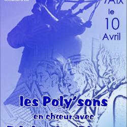 Les Poly'sons et Edelweiss Pipers à Grésy sur Aix