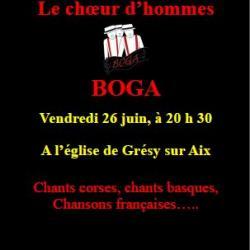 Les Bogas à Grésy sur Aix