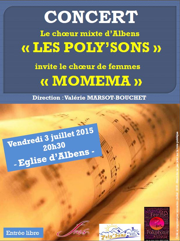Les Poly'sons invite MOMEMA à Albens
