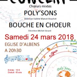 Concert du 24/03/2018