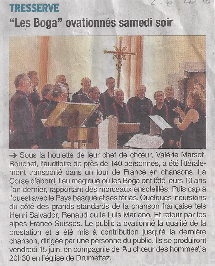 Dauphiné Libéré 02.06.18