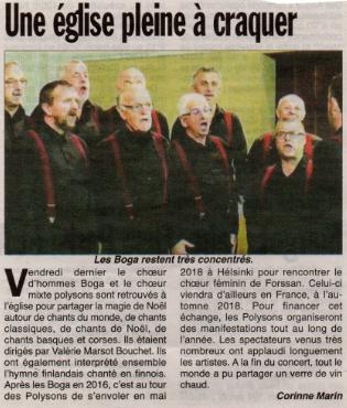 Article Hebdo des Savoie