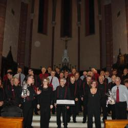 Concert Boga + Chor'Hom - Albens - Novembre 2016